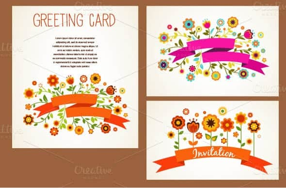 Greeting Card Template 5941