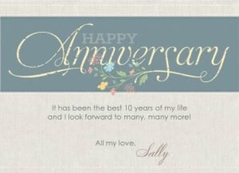 Happy Anniversary Card 4741