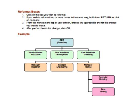 Organization Chart Templates 79461