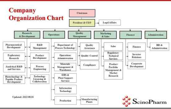 Organization Chart sample 25.97441