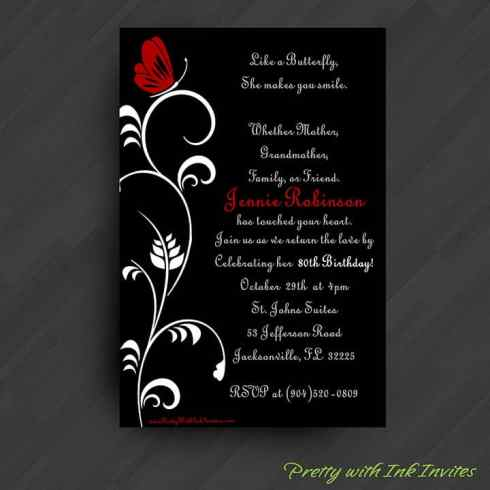 Party Invitation example 79641