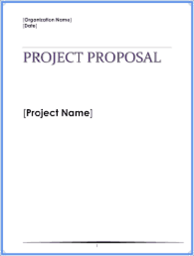 Project Proposal sample 264