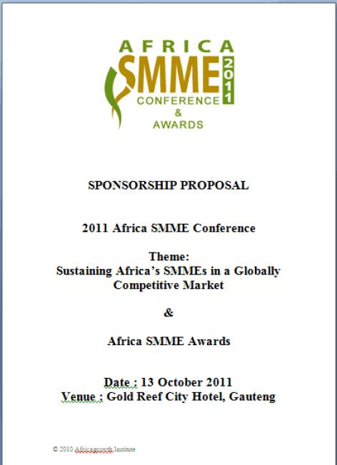 sponsorship proposal template 15741