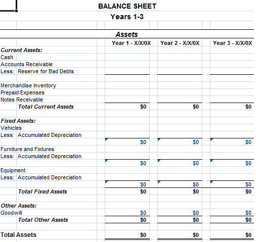 22 Free Balance Sheet Templates in Excel PDF Word – Template Balance Sheet