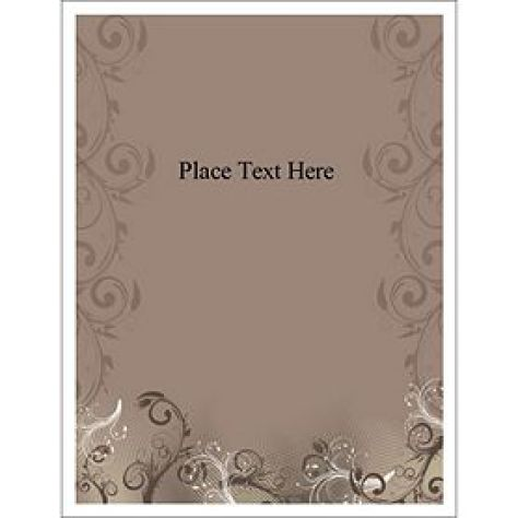 binder cover template 2941