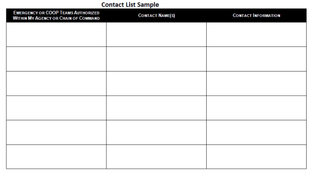 contact list template 39641