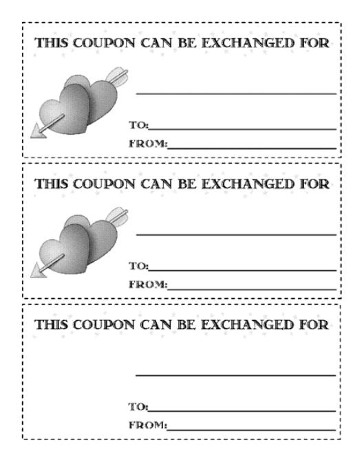 coupon sample 8941