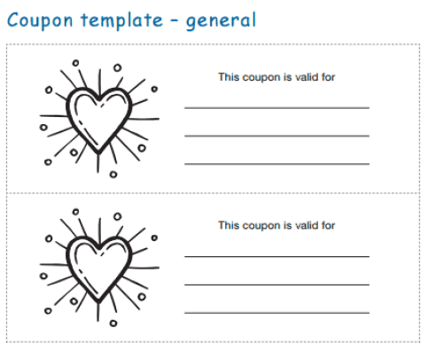21 Free Coupon Template Word Excel Formats