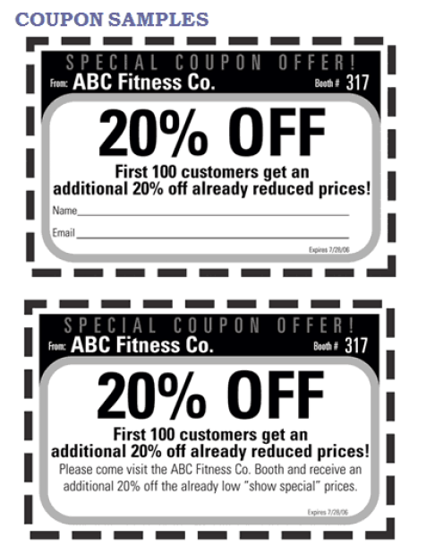 coupon template 2641