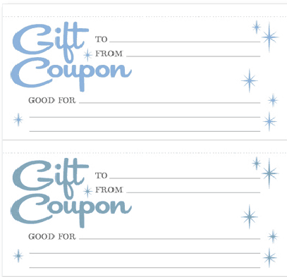 coupon formats
