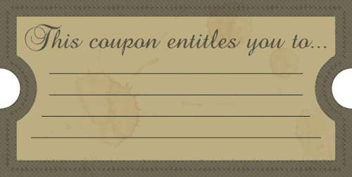 coupon template 69641