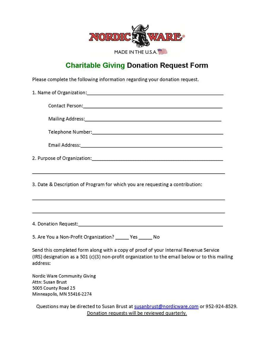 non profit donation form oker whyanything co