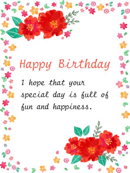 happy birthday card 10.461