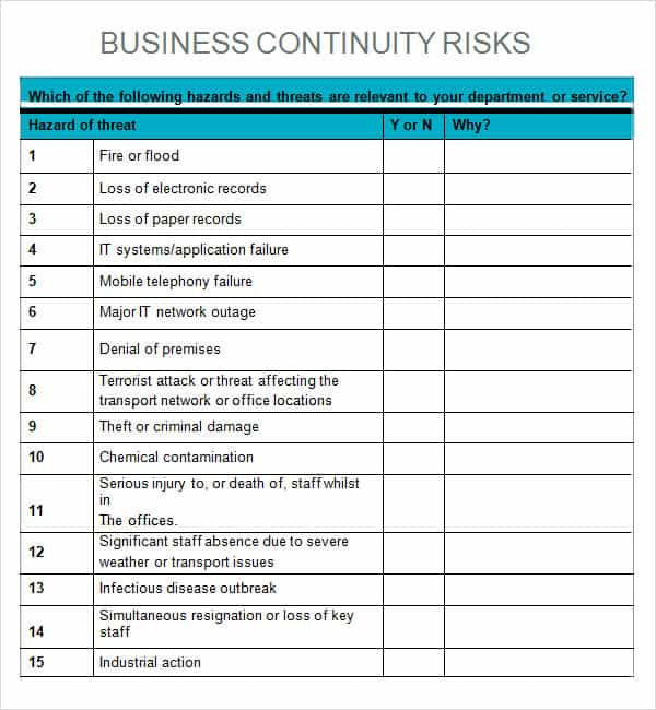 impact assessment template 8941