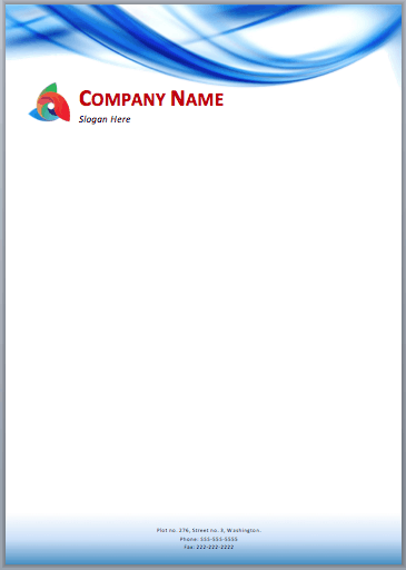 33 free letterhead templates in word excel pdf letterhead sample 4941 accmission Choice Image