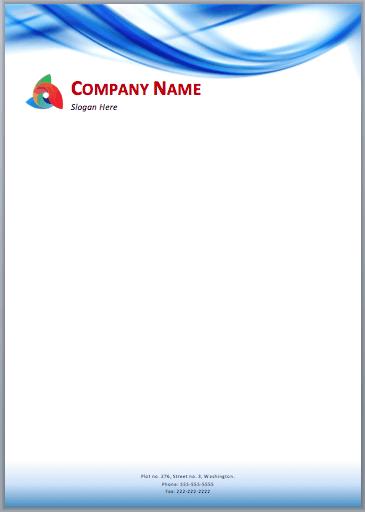 letterhead sample 4941