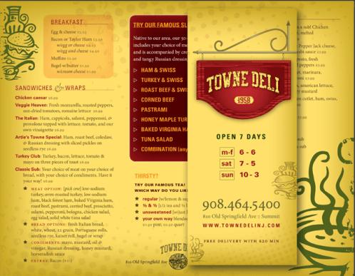 menu sample 59741