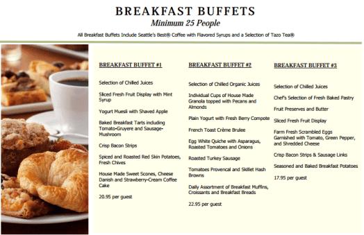 menu template 594