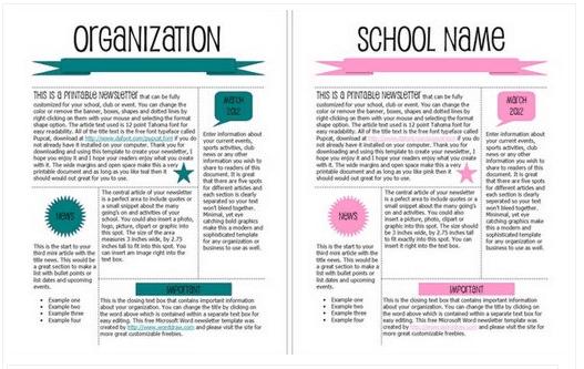 newsletter template 4941