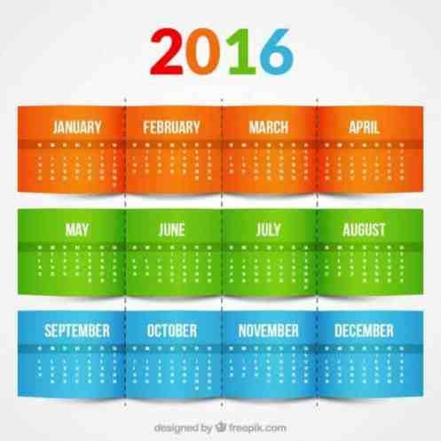 office calendar sample 49741
