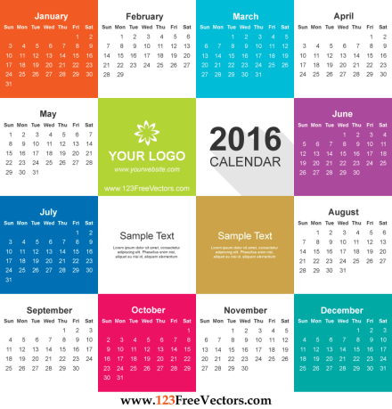 office calendar sample 5941