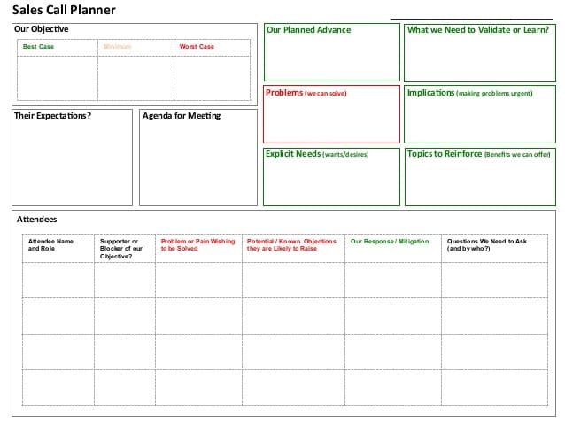30 Free Sales Plan Templates in Word Excel PDF