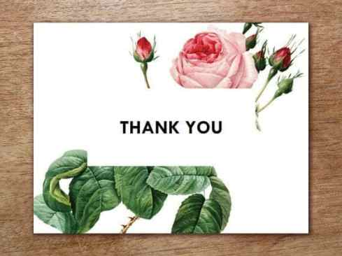 thank you card sample 21