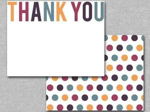 thank you card sample 219641