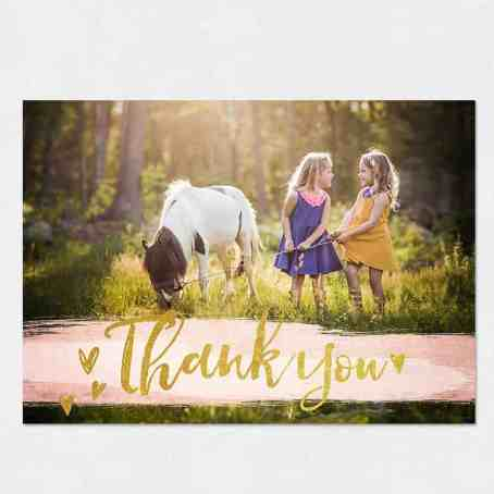 thank you card sample 6941