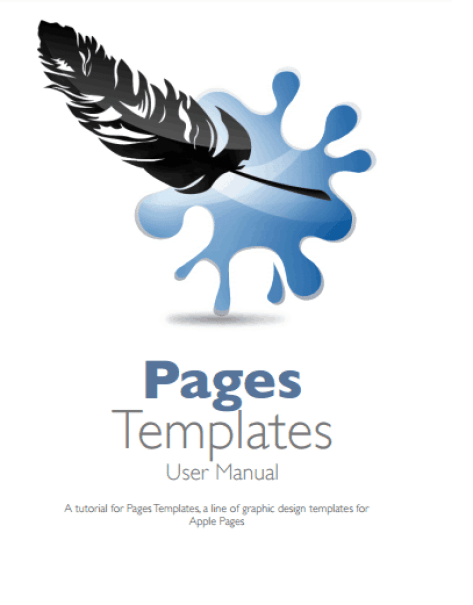 user manual template 4741