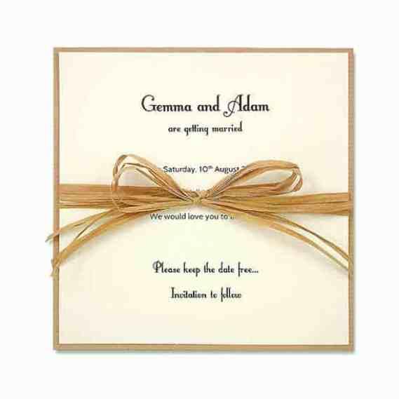 wedding invitation sample 5941