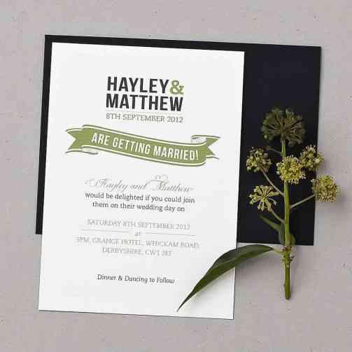 wedding invitation sample 9641