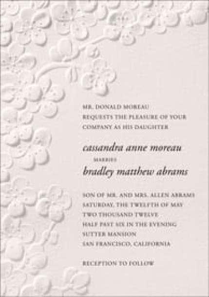 wedding invitation template 164