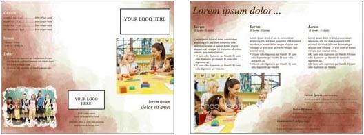 Word Brochure Format 2+941  Brochures Templates Word