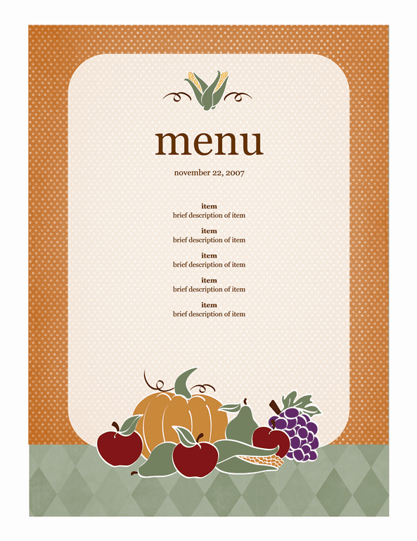 21 Free Free Restaurant Menu Templates Word Excel Formats – Free Restaurant Menu Template Word