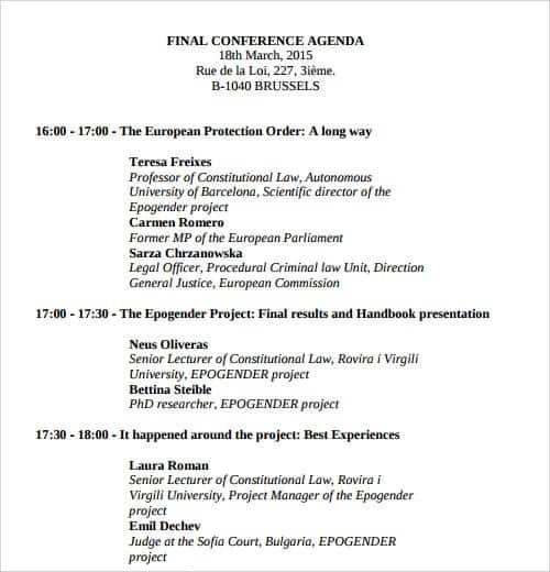 ... Doc580580 Political Agenda Template Sample Political Agenda 6 U2013 Sample Political  Agenda ...
