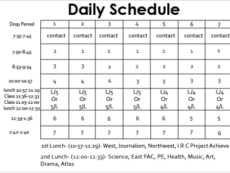 Daily Study Schedule Template Archives Word Excel Templates