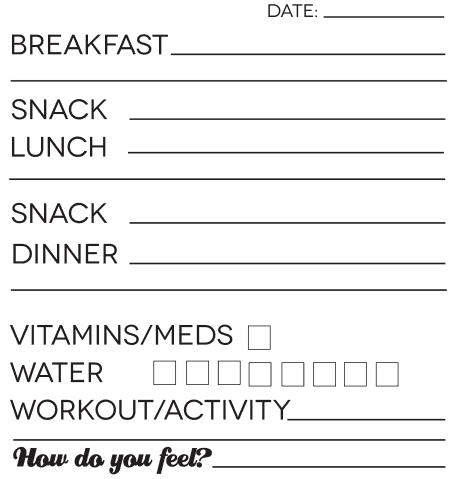 food journal sample 14.46