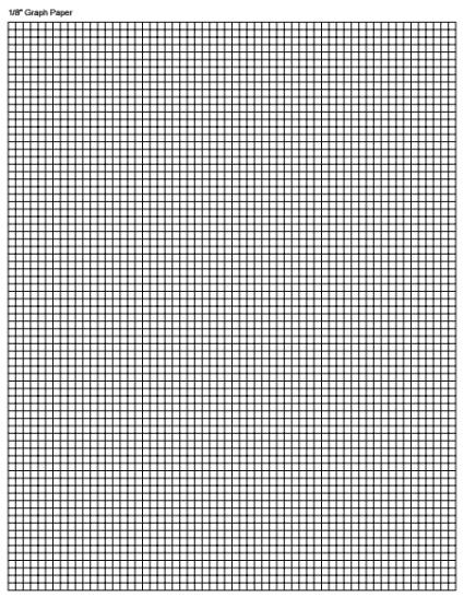 graph paper template 2941