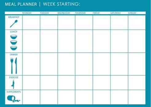 menu planner sample 641