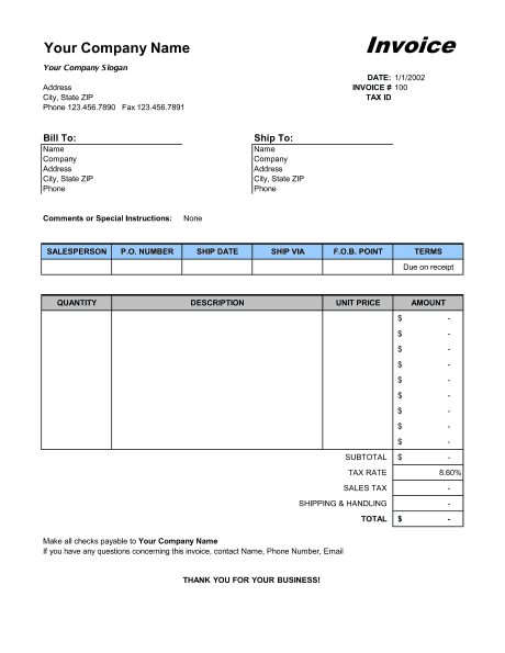 21+ free sales invoice template - word excel formats, Invoice examples
