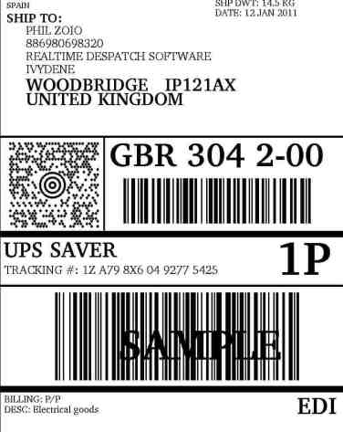 shipping label sample 12.41