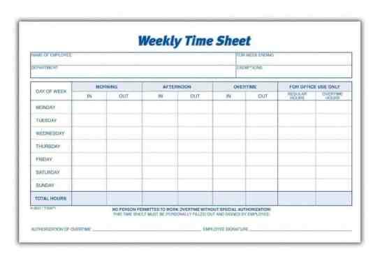 time sheet sample 341