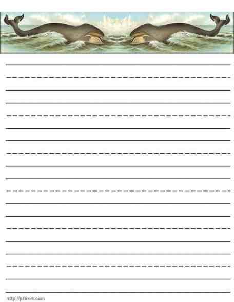 writing paper sample 741