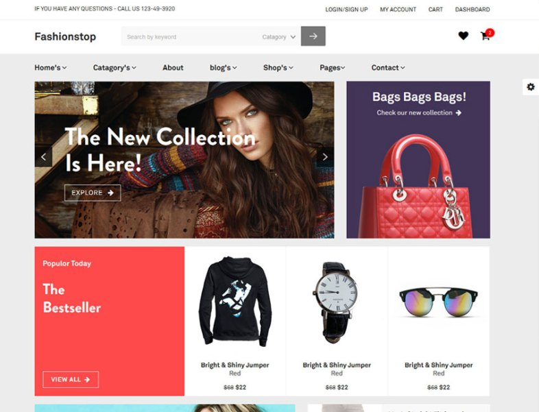 Relic fashion store best premium and free responsive wordpress product details relic fashion store ecommerce html template maxwellsz