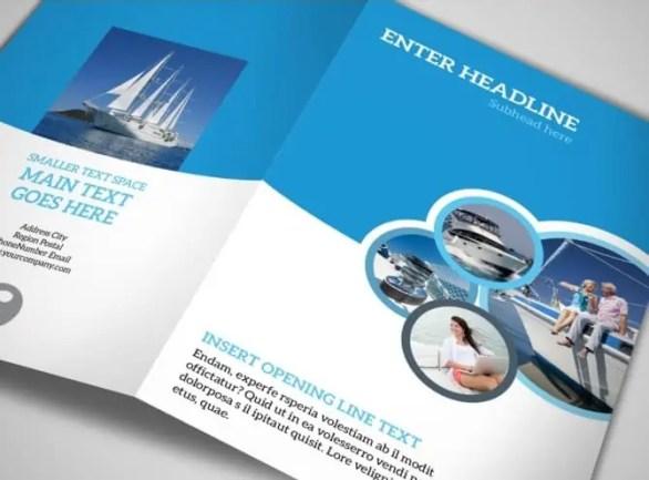 Bi Fold Brochure Templates  641
