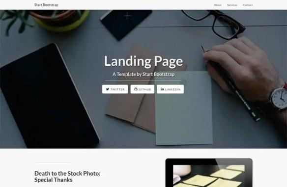 Free Landing Page Templates 41