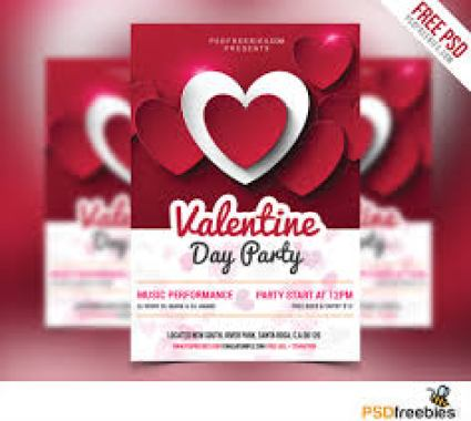 Free Valentine's Day Flyer Templates 74