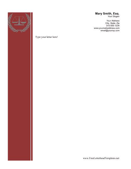 free download letterhead word format