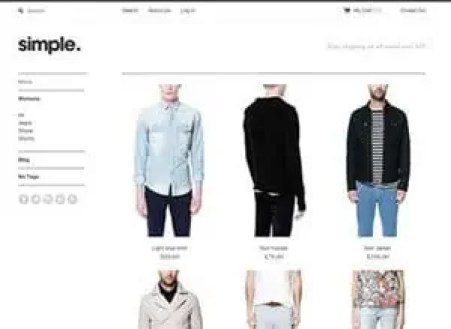 Responsive Ecommerce Website Templates Free 3641